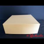 Tortenkartons 29x29x10 cm WEISS