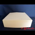 Tortenkartons 32x32x10 cm Weiß