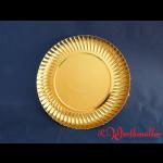 Goldteller tief 13 cm