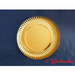 Goldteller tief 23 cm