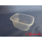 Rechteckbecher natur 250 g transparent