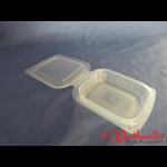 PP-Klappbox 125g-Nr.800 mit anhängendem Deckel