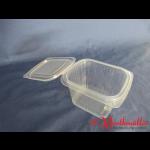 PP-Klappbox 500g-Nr.830 mit anhängendem Deckel