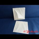Beutel 16x16 cm weiß ohne Druck
