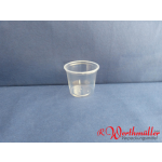 PS-Dressingbecher klar 70 125 ml
