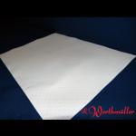 Damast-Tischtuchsets weiß  30x40 cm