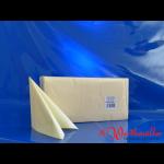 Zelltuch-Servietten champagner (111) 33x33 cm 3-lagig 1/4F
