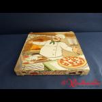 Pizzakarton 26,5x26,5x3 cm CUBO