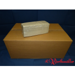 Falthandtücher 1-lagig natur 25x33 cm