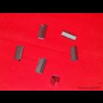 Metallverschlüsse glatt 13x28x0,5 mm