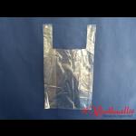 Hemdchentragetaschen transparent geblockt 28+14x48 cm
