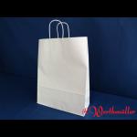 Kordel-Tragetaschen weiß 32x12x41 cm