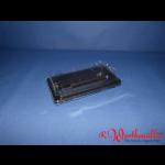 Sushischalen 171x091x20mm schwarz mit Deckel P01-A05
