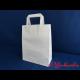 Papier-Tragetaschen weiß 22x11x26 cm