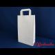 Papier-Tragetaschen weiß 22x11x36 cm