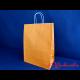 Kordel-Papiertraget. 26+12x35cm APRICOT